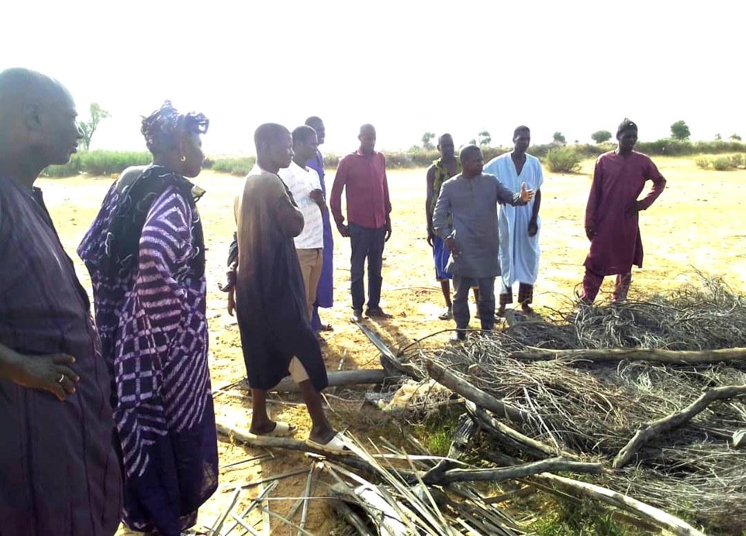 Amadou Thiam Cas-Cas occupe le terrain