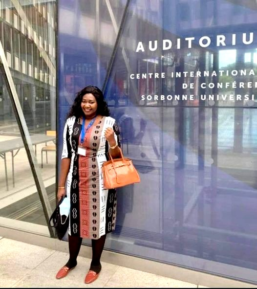 Aminata Sourang Mbaye Diouf gagne le Concours international - Ma thèse en 180 secondes