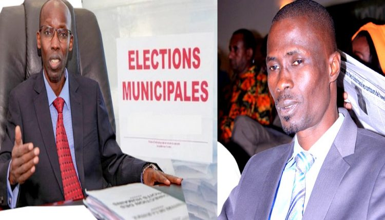 Cabinet d'expertise électorale avec Ndiaga Sylla et Mbaye Babacar Diop