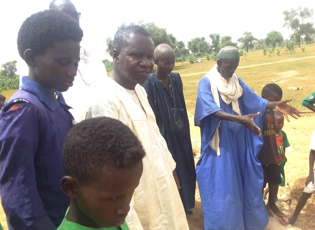 Candidat à la Mairie de Madina Ndiathbé - Amadou Thiam Cas-Cas occupe le terrain