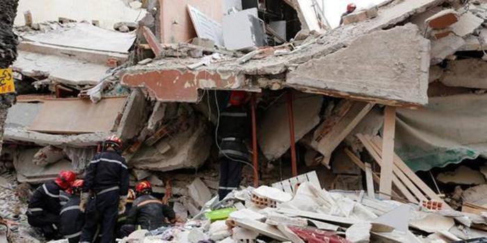 Effondrement d'un immeuble à Hann Bel-Air